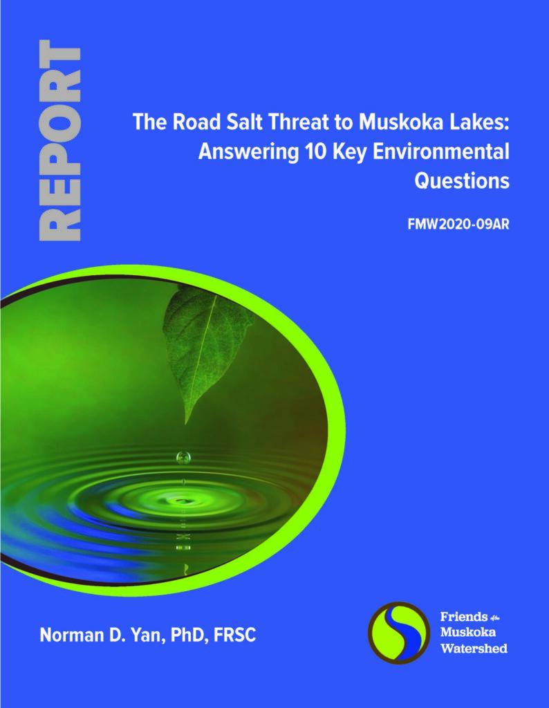 The Road Salt Threat to Muskoka Lakes